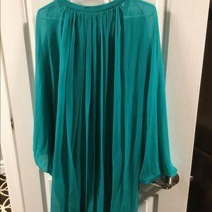 Diane Von Furstenberg Dresses - NWT Diane Von Furstenberg Silk Dress Size 12